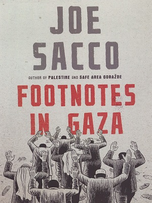 Joe Sacco – Footnotes in Gaza